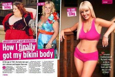 Why Does Everyone Care What Ajay Rochester Eats Bikini Bodies Retro Bikini Rochester