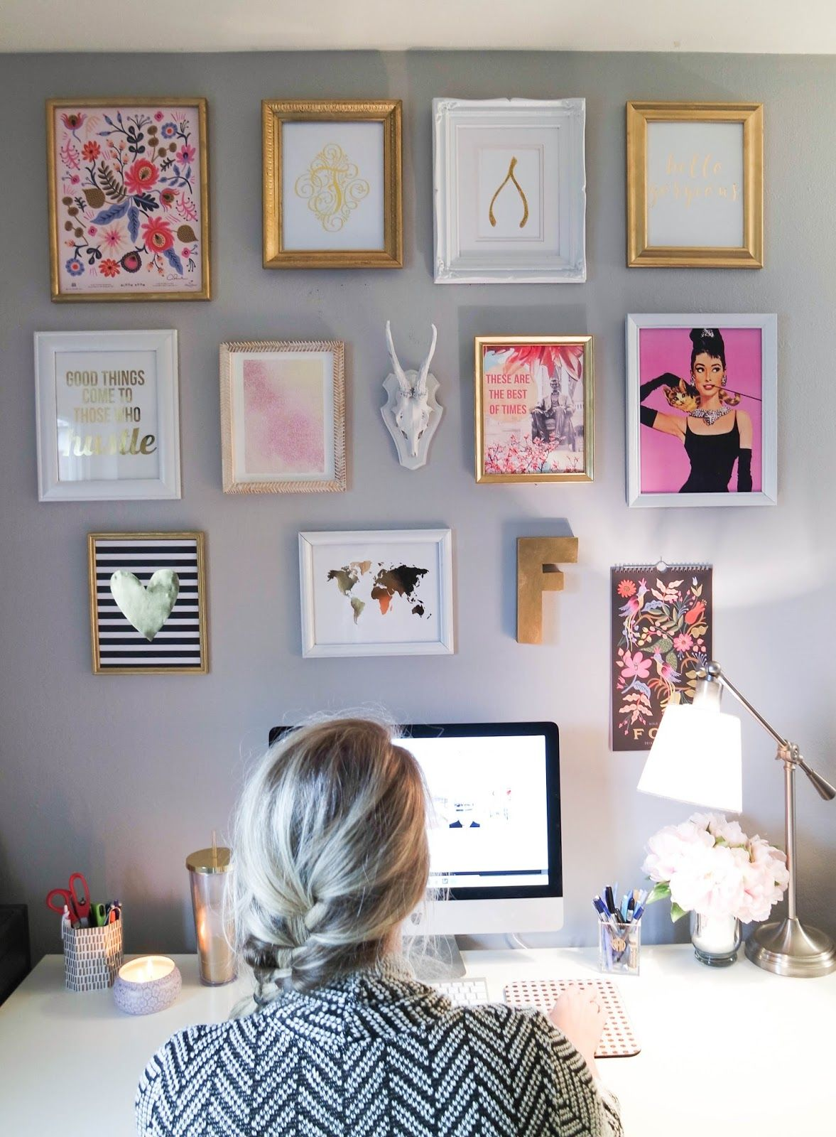Creating a gallery wall on a budget diy stuff pinterest