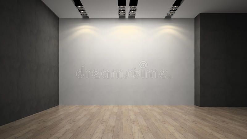Empty Room Whith White Wall Ad Room Empty Whith Wall