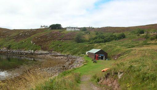 Família colocou à venda uma ilha na Escócia