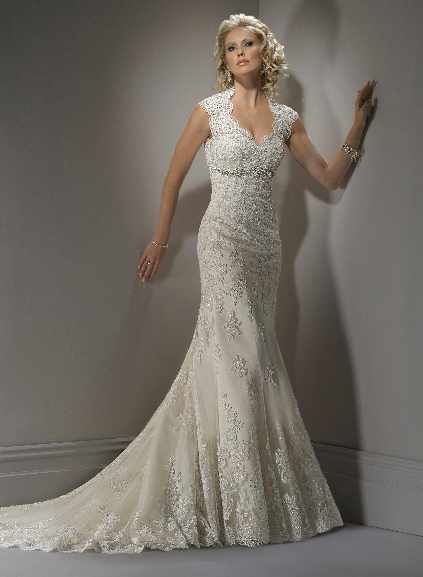 Beautiful lace wedding gown wedding dresses pinterest lace