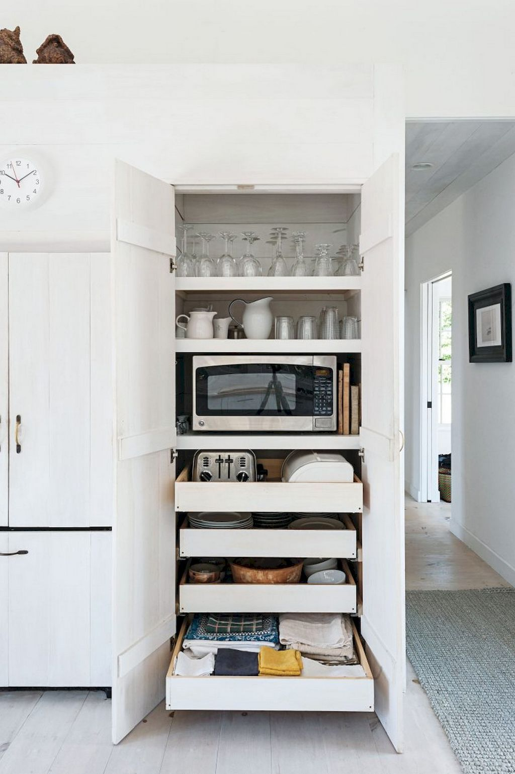 Microwave Cabinets With Hutch Tall Cabinet Pantry Insert