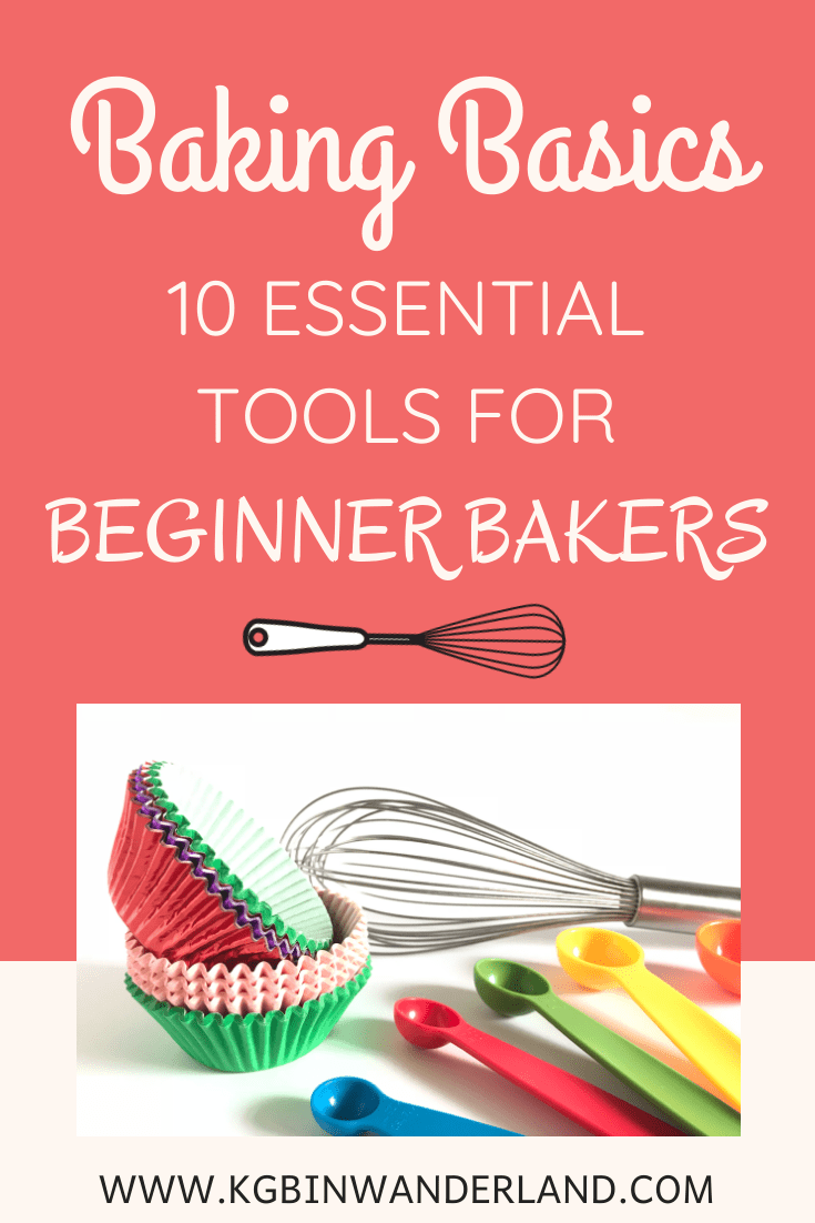 10 Essential Kitchen Tools For The Beginner Baker Essential Kitchen Tools Kitchen Tools Baking Essentials