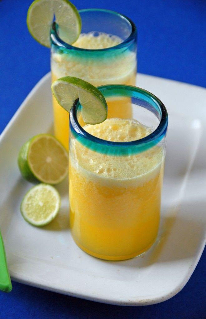Mango Lime Agua Fresca