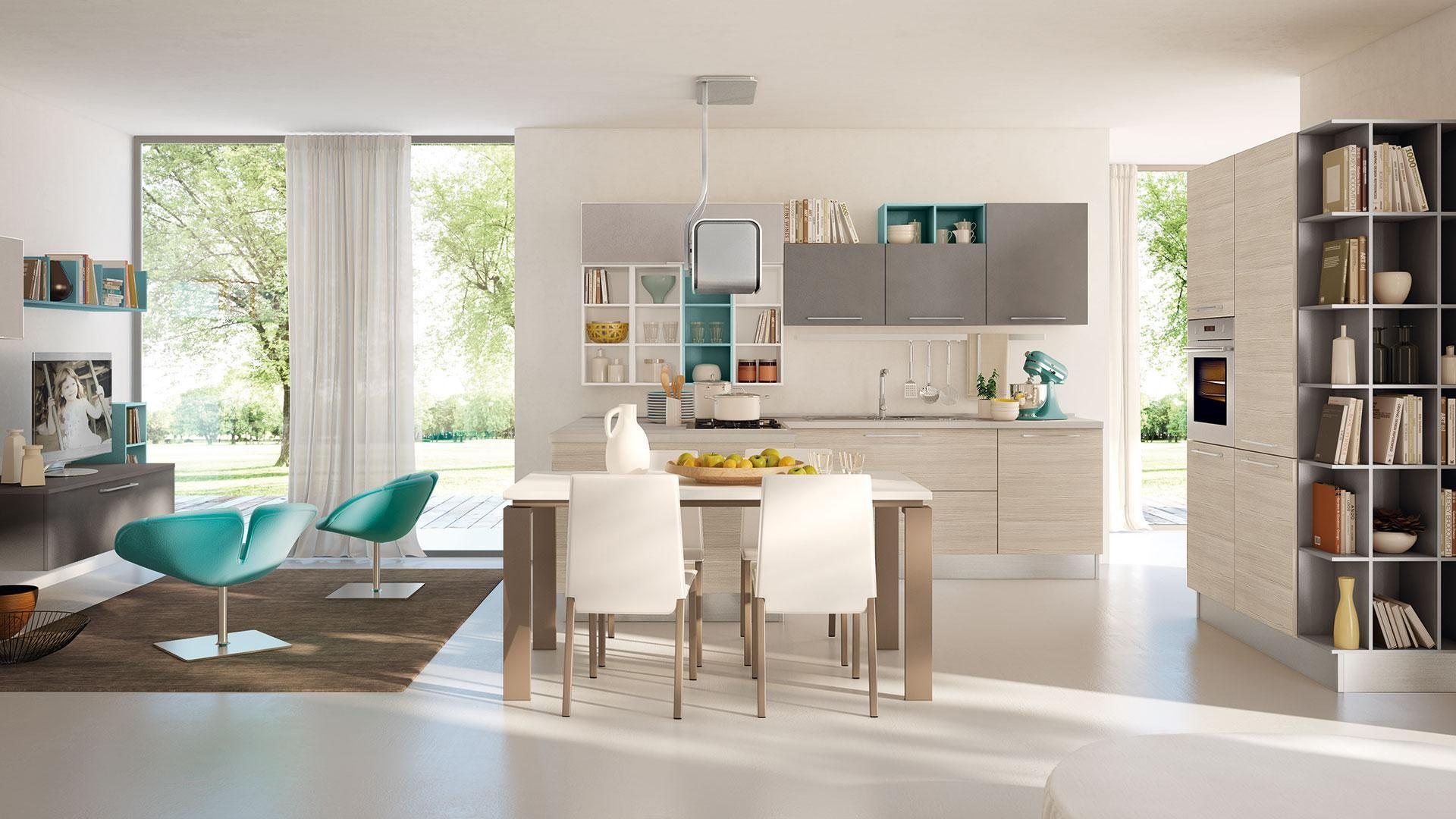 Swing - Cucine Lube | Idee cucina | Pinterest | Swings, Living ...