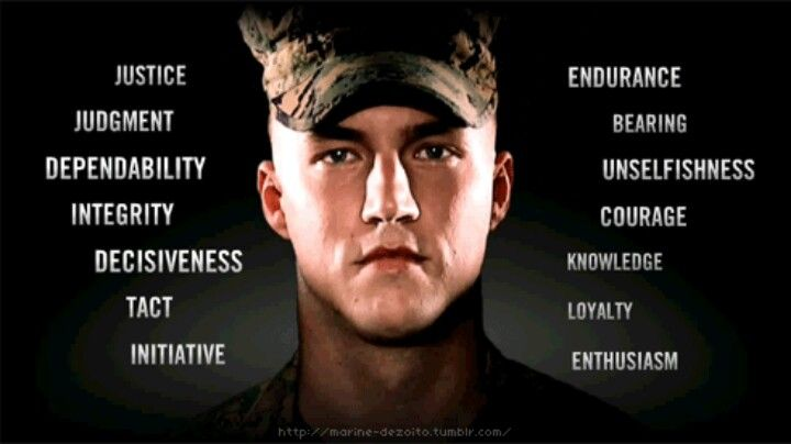 A few words to describe the Marines | L♥VE | Pinterest | Words ...