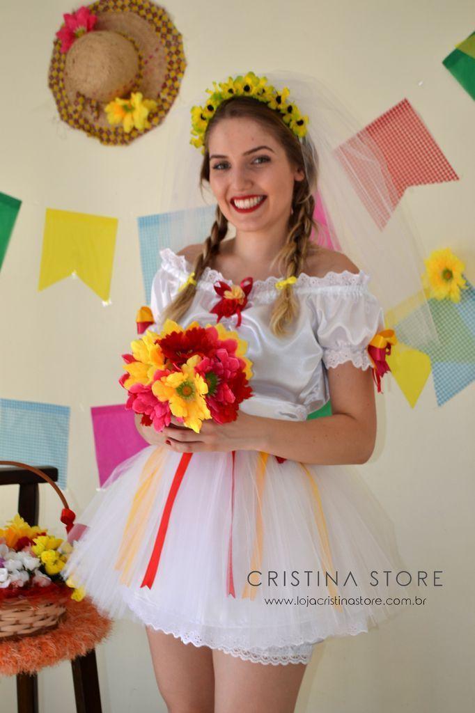 Vestido Caipira Barato Means Women S Fashion Leggings Girly Fashion Girls Dresses