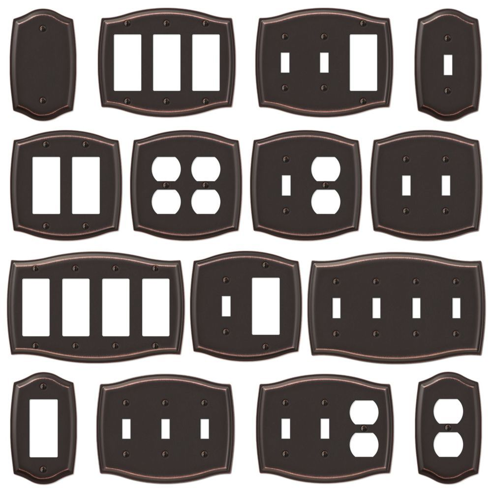 Outlet Switch Covers Switch Plate Outlet Cover Rocker Toggle Light Wall Plate  Oil