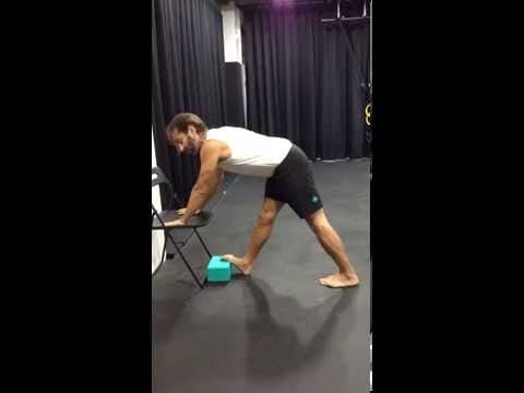 Popliteus stretch for knee pain - YouTube