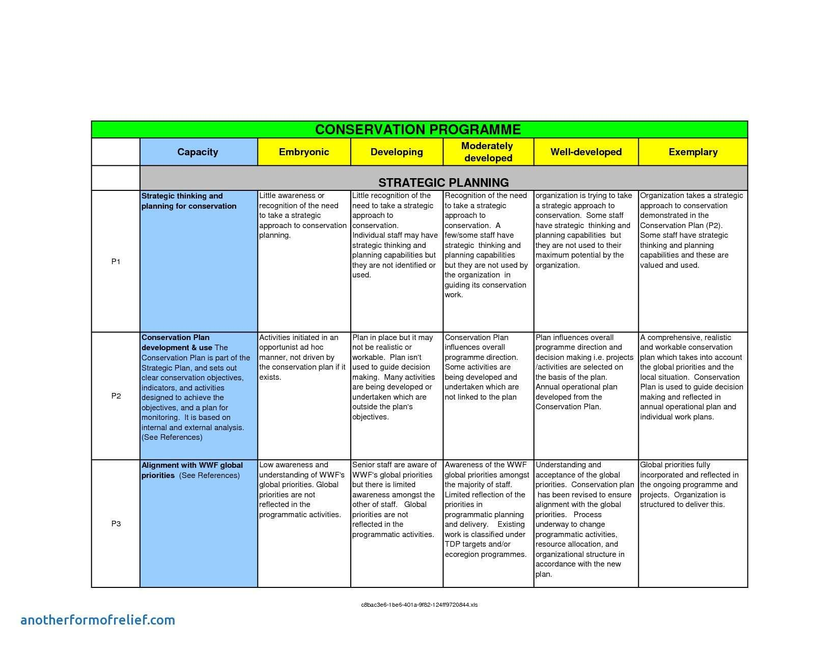 23 Annual Business Plan Template