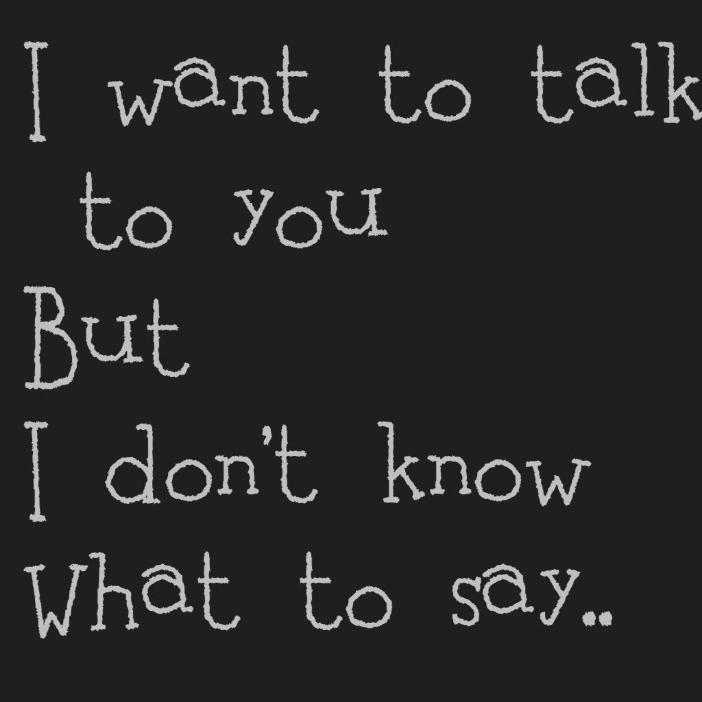 To You Talk I T How Don To Know