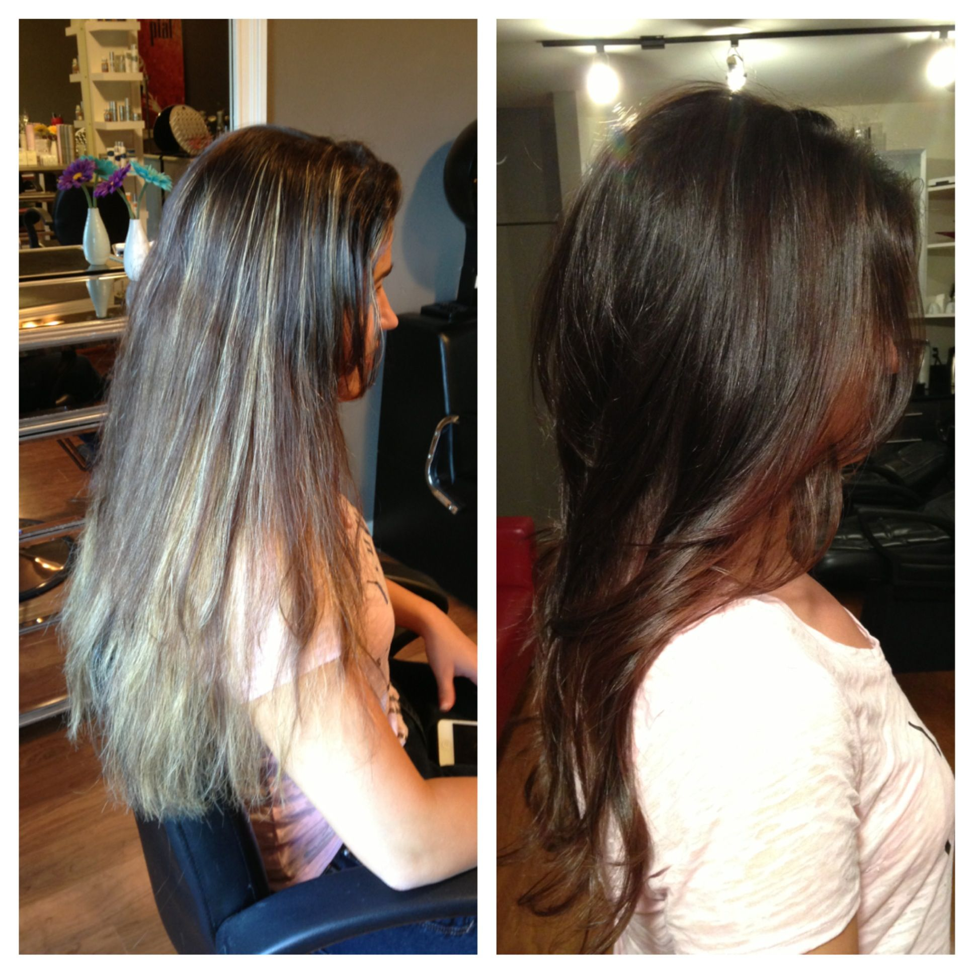 Gorgeous before and after hair transformation gorgeous rich