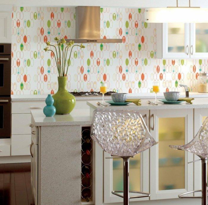 Vintage Teppiche und Tapeten für kreative Interieurs Haus and