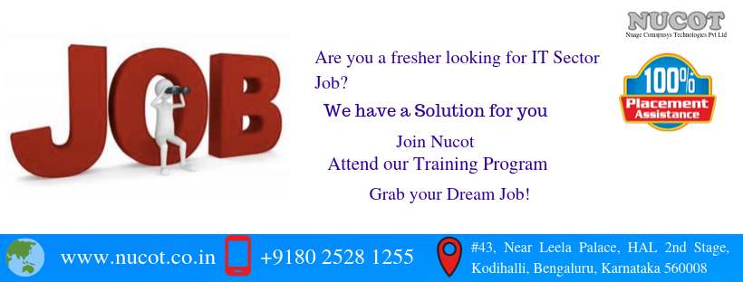 Are you a fresher looking for IT Sector Job?? Are you