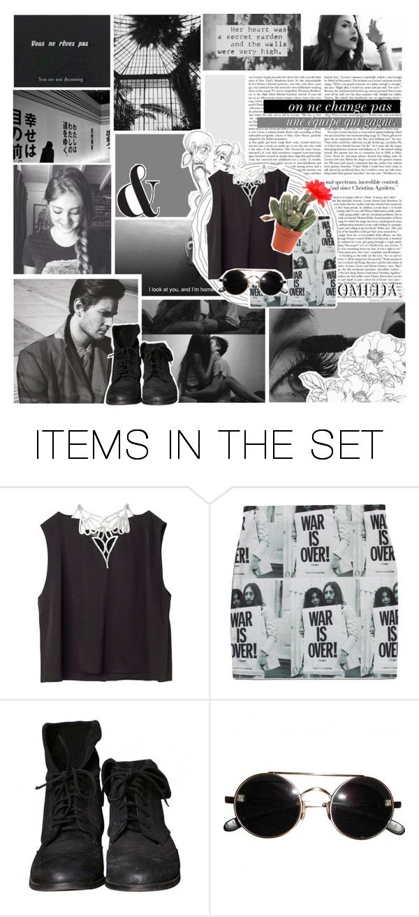 """I walk this empty street, on the boulevard of broken dreams."" by sarahiscool810 ❤ liked on Polyvore featuring art and bedroom"