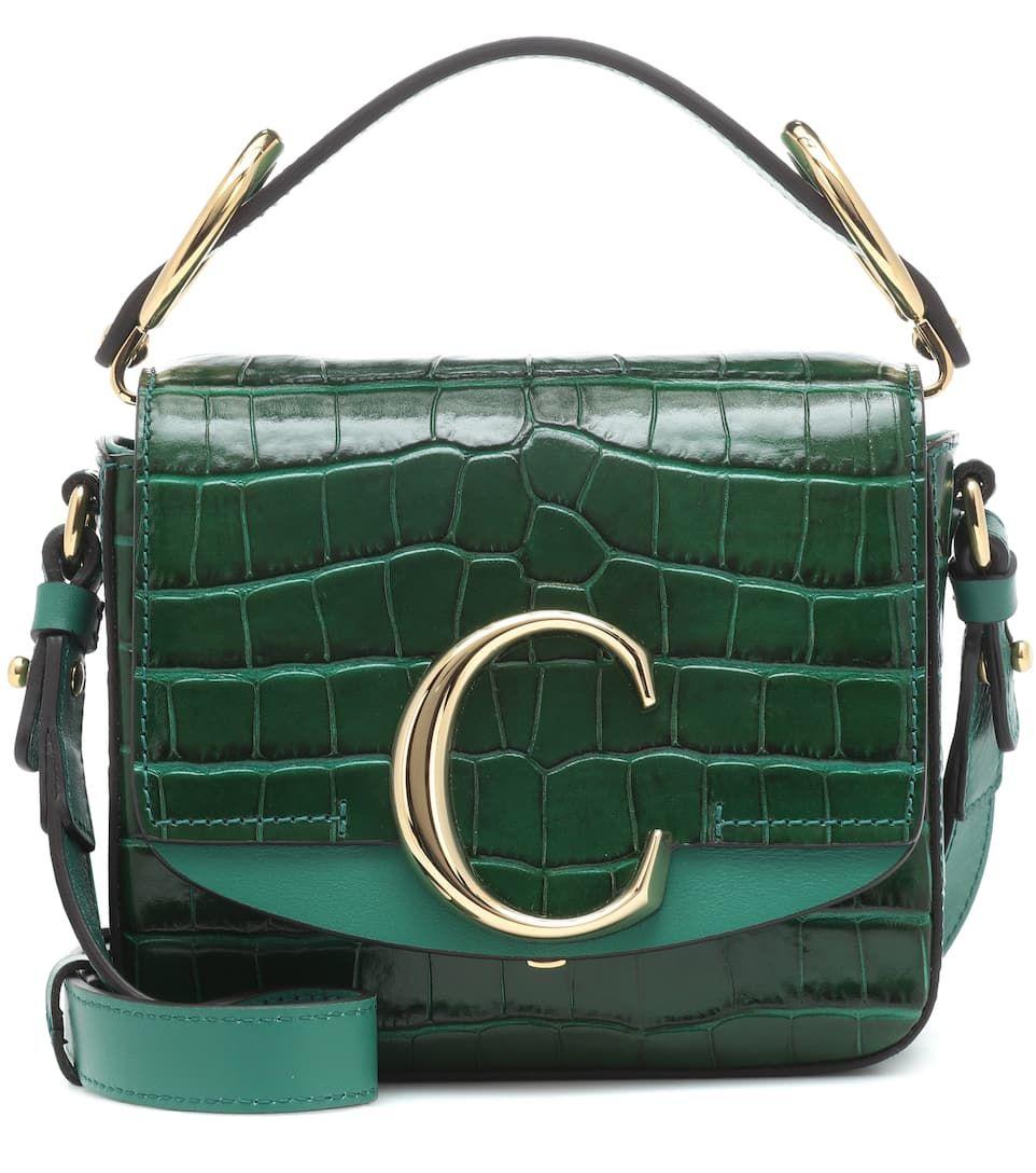 535c16d6 Chloé C Mini Leather Shoulder Bag - Chloé | mytheresa.com | ****Chic ...