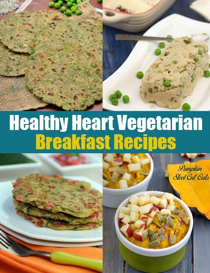 Must have Breakfast Recipes to have for a Healthy Heart