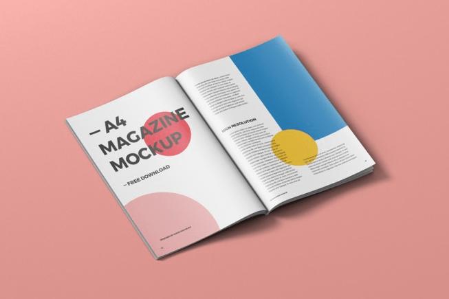 A4 Magazine Mockup Free Magazine Mockup Free Magazine Mockup Free Mockup