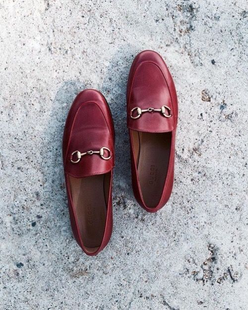 2658d89aa FRIYAY Gucci Loafers, Red Loafers, Loafers Outfit, Gucci Shoes, Penny  Loafers,