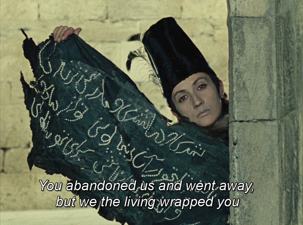 365filmsbyauroranocte: Sayat Nova (a.k.a. The Color of Pomegranates)  (Sergei Parajanov, 1969) #(Sergei #365filmsbyauroranocte: #Co… in 2020 |  Parajanov, Pomegranate, Color
