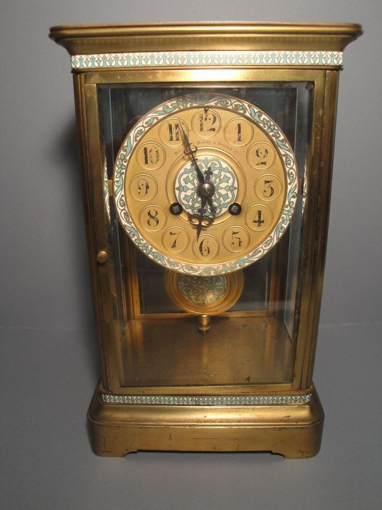 Us 595 00 Used In Collectibles Clocks Antique Pre 1930 Clock French Antiques Antiques