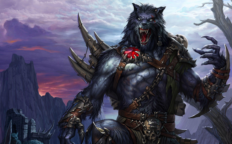 Hd wallpaper zone - Hd Werewolf Monster Scary Full Hd Wallpaper Full Size Wallpaper Zone