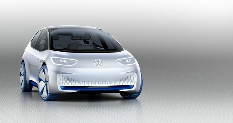 The Volkswagen I.D. Is The Electric Future Of Compact Cars With A 373 Mile Range