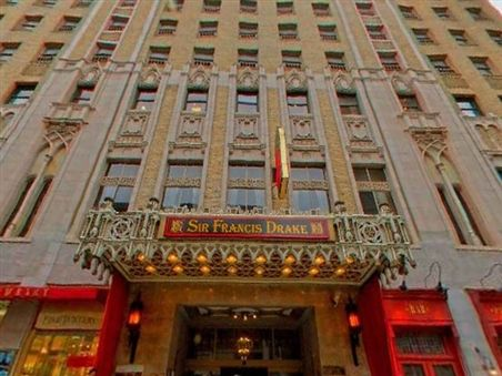 Sir Francis Drake Hotel We Loved Staying There While In San Francisco