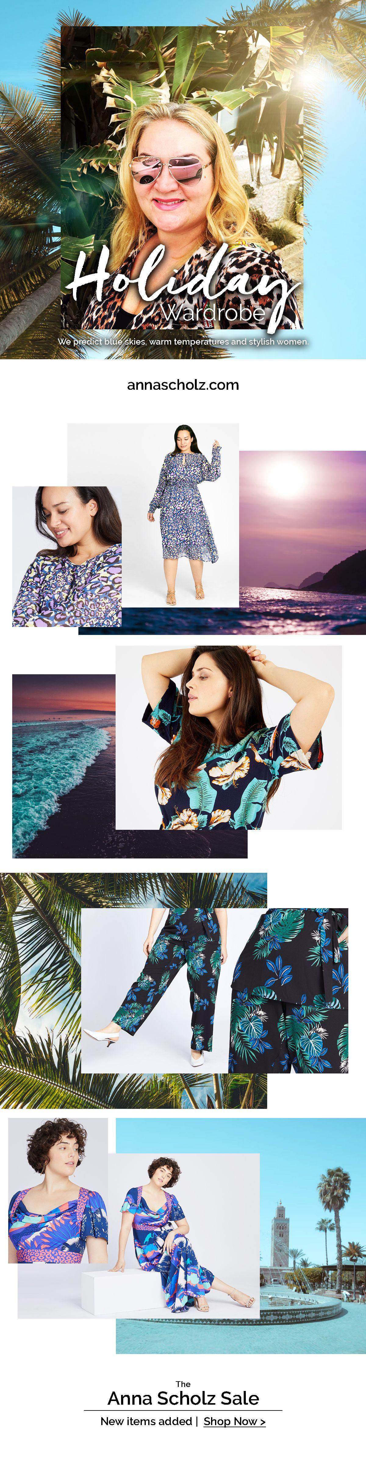 Anna Scholz: Holiday Wardrobe