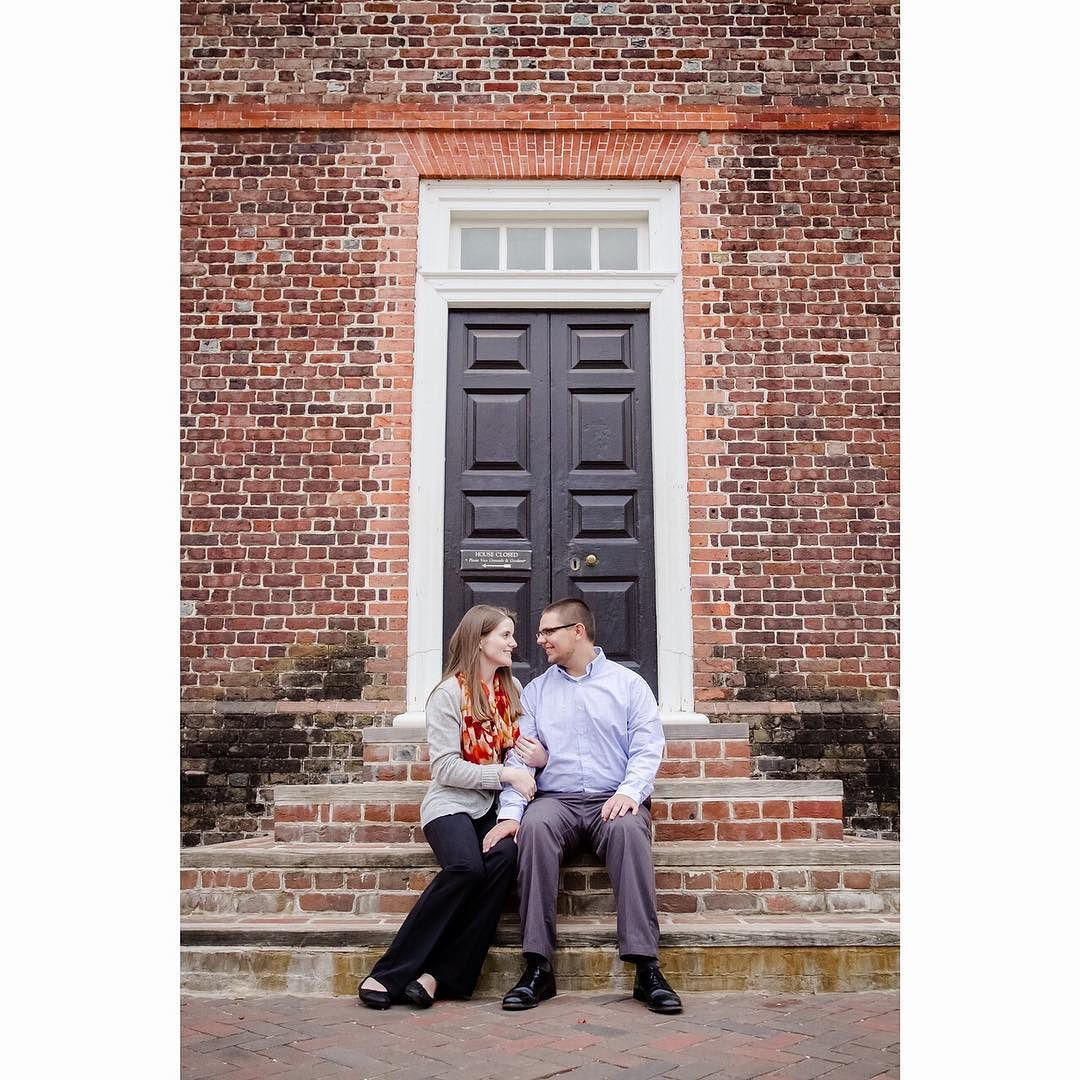Yesterday was the most perfect fall day!! We spent it with Hanna & Bryan in Williamsburg for their engagement pictures and loved every minute! Can't wait to celebrate them in January! @hpnichols