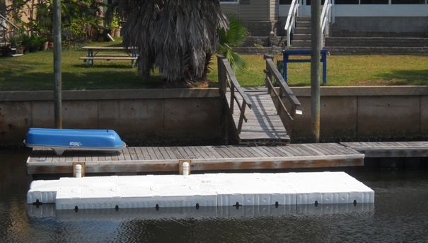 SportPort Docking Systems  Floating, drive-on Boat Lifts and