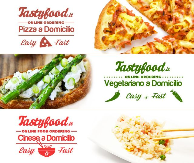 Tastyfood.it | Online Food Ordering Pizza a domicilio - Vegetariano a Domicilio - Cinese a Domicilio