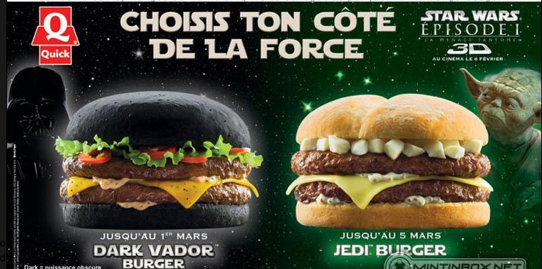 McDonald's lanzó  en China un nuevo combo que llama la atención por incluir una hamburguesa con pan blanco y otra con pan negro