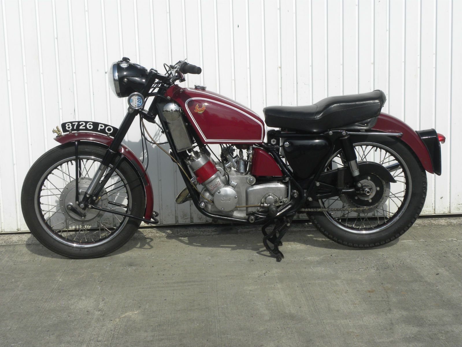 Birmingham Scott Flying Squirrel 600cc 1960 Matching Numbers Ebay Retro Motorcycle Classic Motorcycles Flying Squirrel