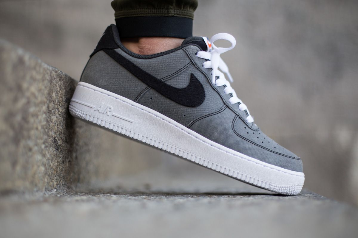 "low priced b0ac4 09040 Nike Air Force 1 Low ""Grey Canvas"""