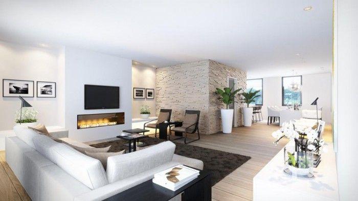 woonkamer - Strak, modern, licht, ruim | Modern Interieur ...