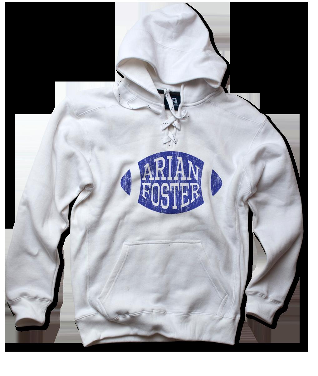 Arian Foster Blue Football