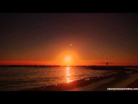 ▶ Relaxing chill out music with sunrise by the sea 34 - YouTube