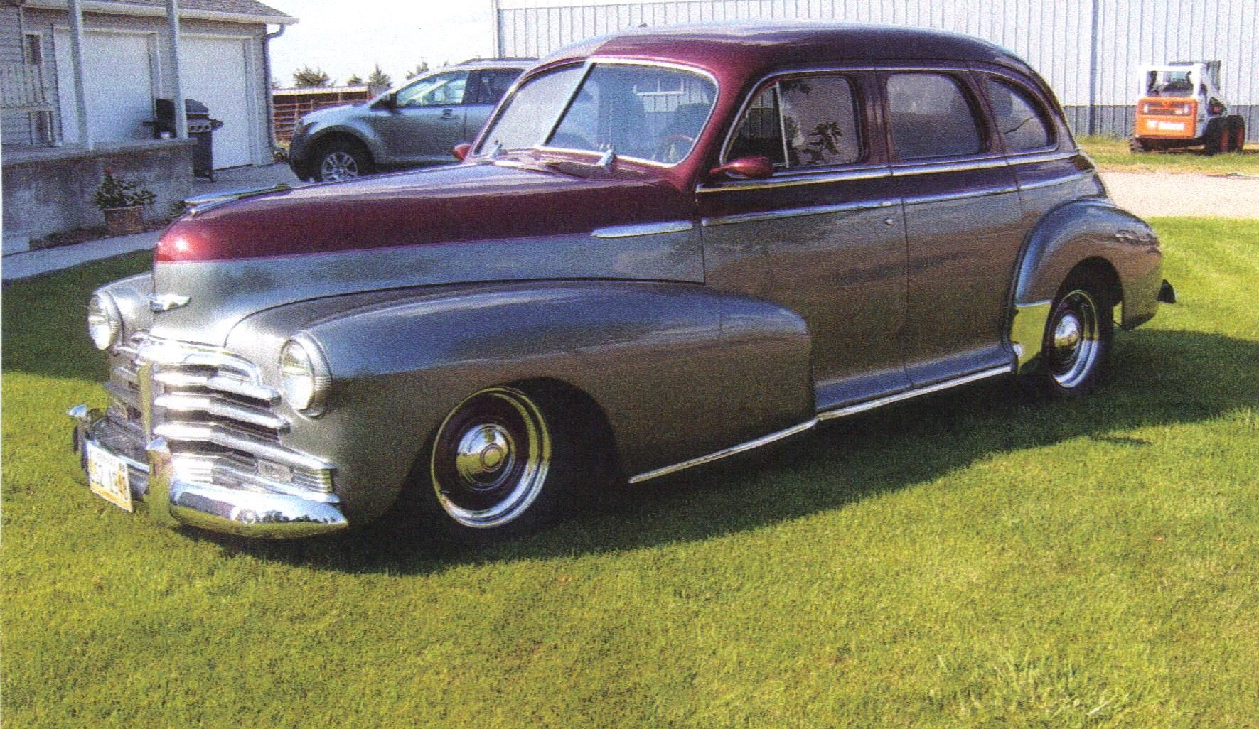 Image gallery 48 chevy 4 door for 1946 chevy 4 door sedan