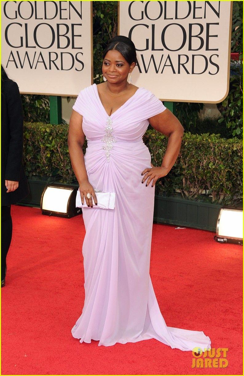 2012 Golden Globe Awards - Octavia Spencer - Tadashi Shoji dress ...
