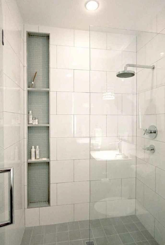 Photo of I thought this shelving inside the shower was cute.