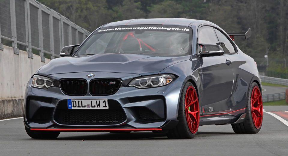 Lightweight Performance BMW M2 CSR Has A 590HP S55 Engine