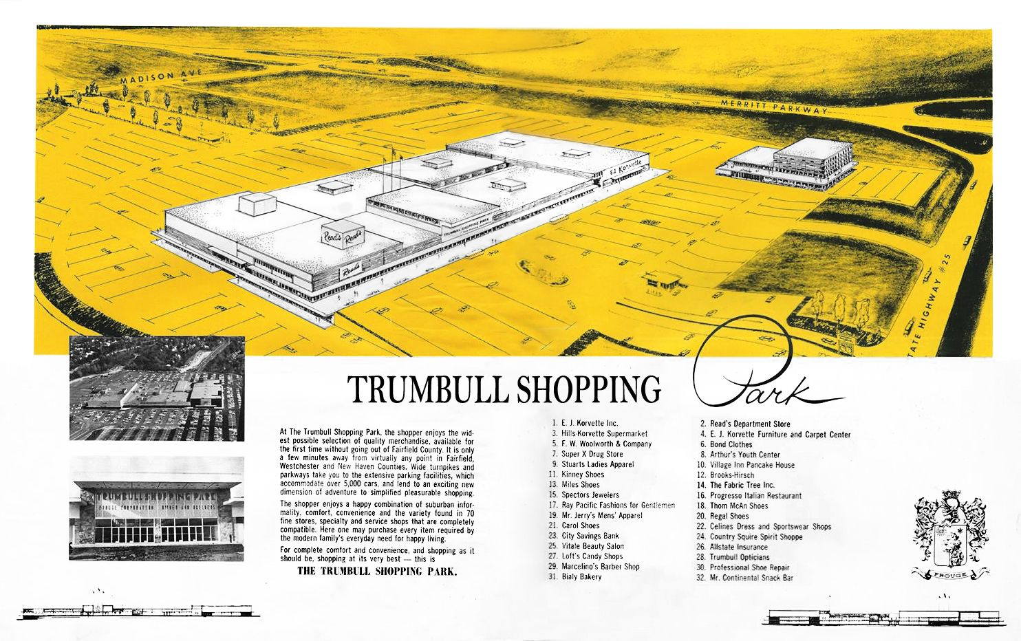 Trumbull Shopping Park Bridgeport Connecticut Trumbull Hometown