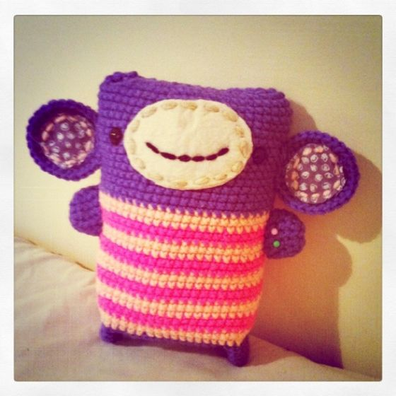 Monkey   crochet   Pinterest