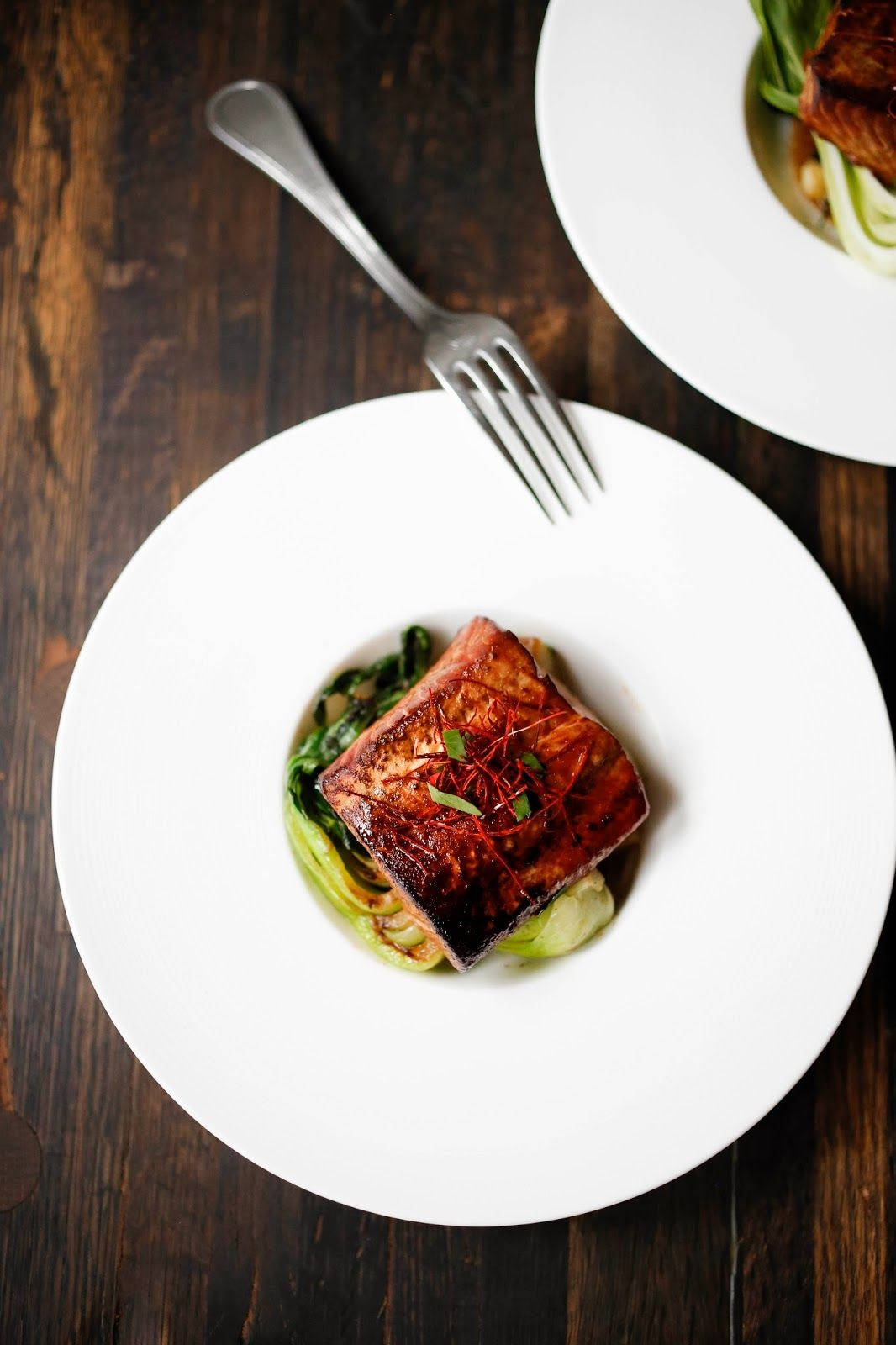 Feasting at Home : Tea-Smoked Five Spice Salmon