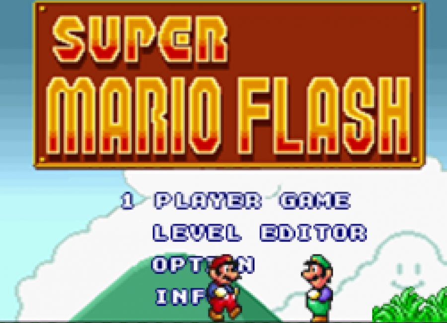 You can play Super Mario Flash in a99.io as unblocked