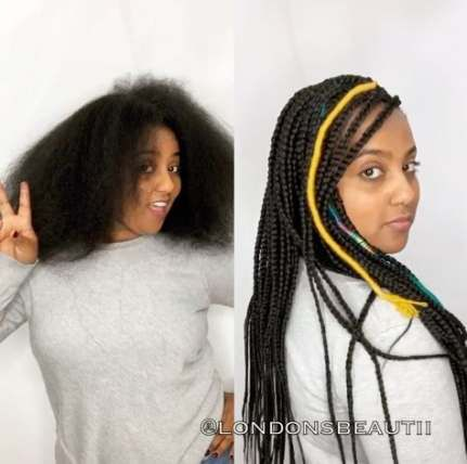 Beautiful Curly Fulani Braids by Curly Coiffure! Go to www.curlycoiffure.com to book!