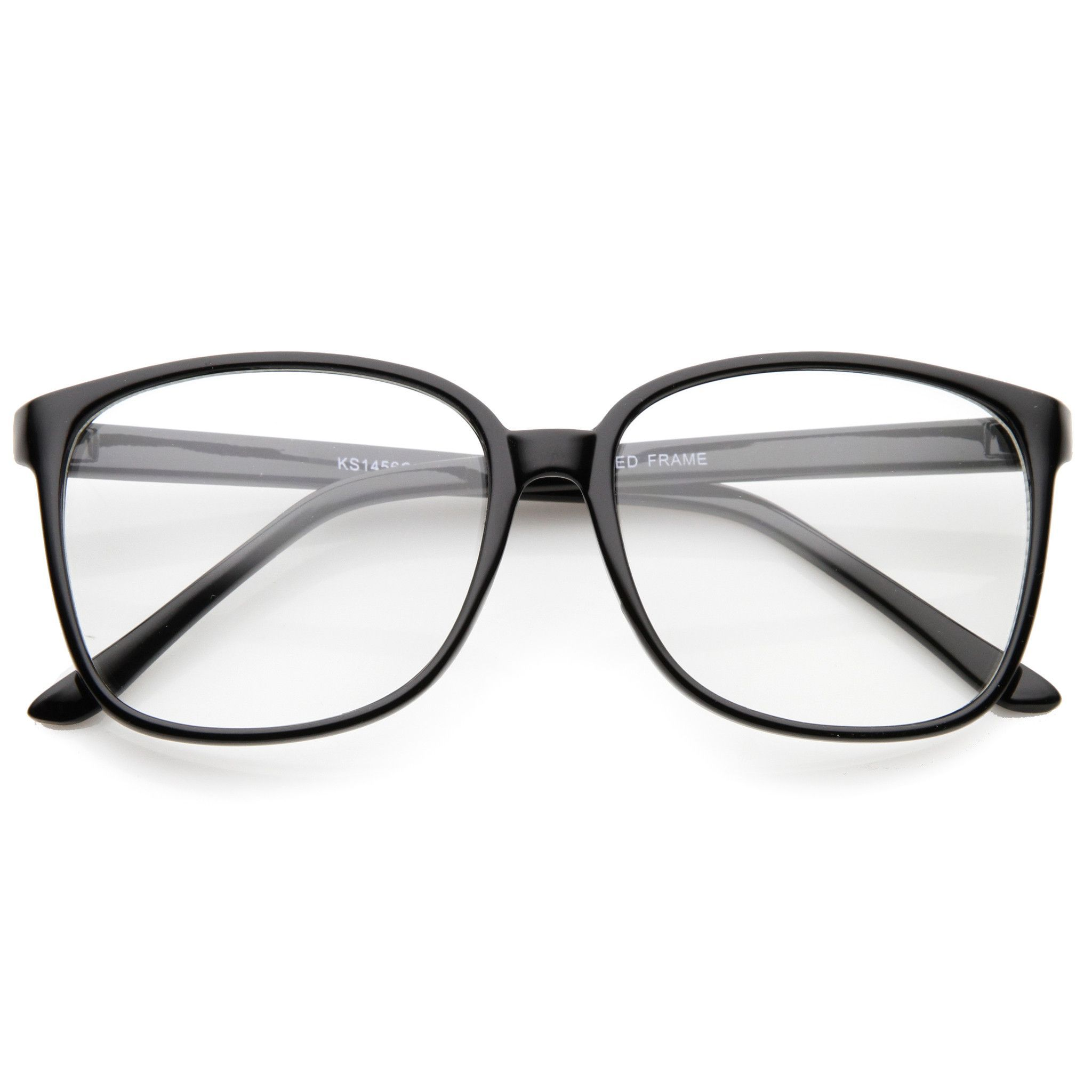 81e574365f Description - Measurements - Shipping - Add a sophisticated touch to your  look with these square clear lens glasses. Exquisitely designed with a thin  frame ...