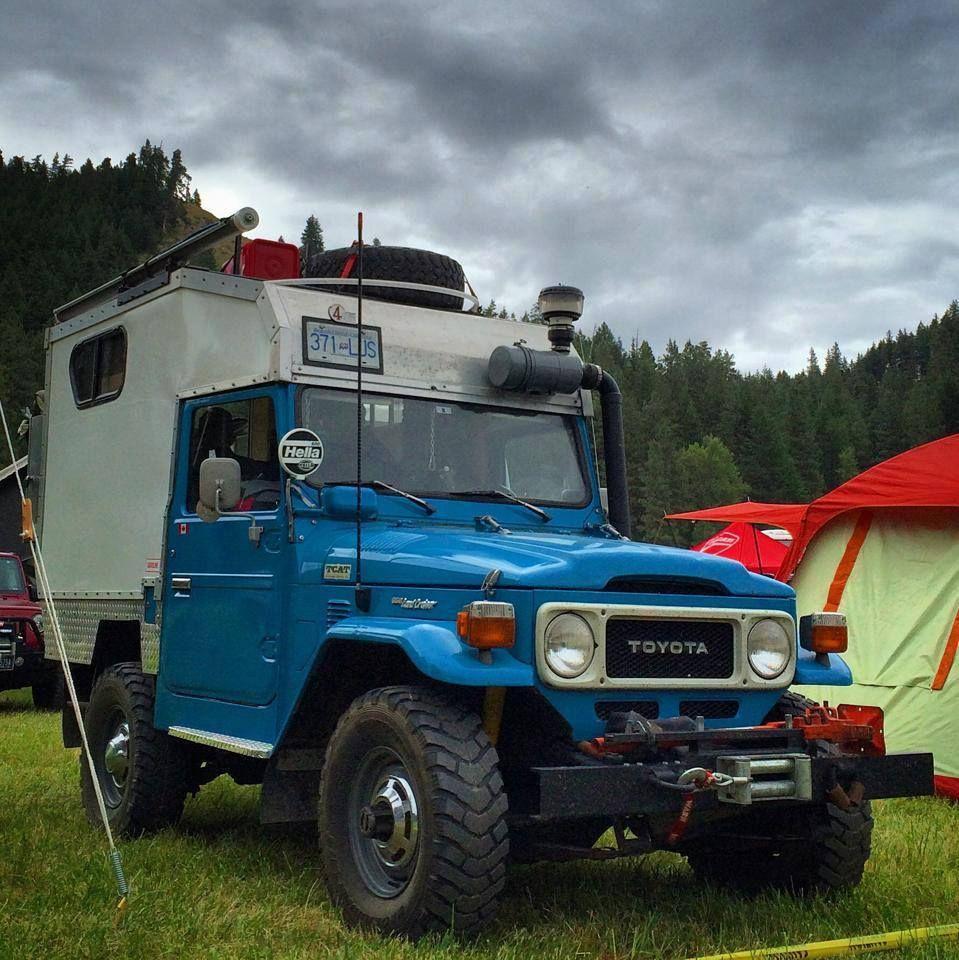 Toyota Off Road 4X4 Camper   Truck camper, Off road camper ...