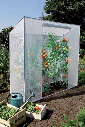 Serre De Jardin Pour Tomates 1 52 M Au Meilleur Prix Lekingstore Sadovye Idei Ogorodnichestvo Ovoshnoj Ogorod